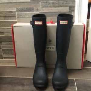 Hunter Tall boots boots in box
